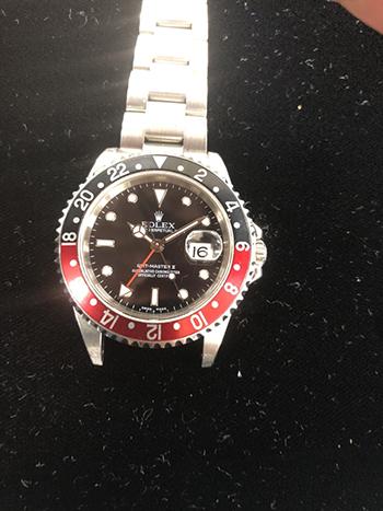 ロレックス GMTマスター REF16710 高価買取しました。 東京都のお客様