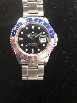 ROLEX GMTマスター1 16700 高価買取しました。 千葉県のお客様