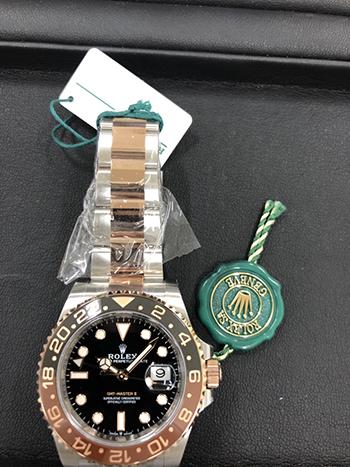 GMTマスターⅡを高価買取! GMTマスターの査定ポイント3選ご紹介!!