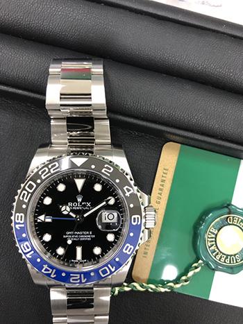 GMTマスター青黒ベゼル高価買取! ベゼルによって買取価格は変化する!?